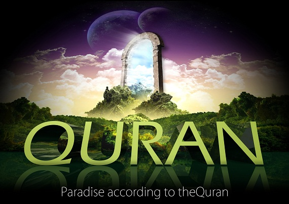 Paradise according to the Quran